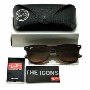Ray-Ban Sunglasses Brown Gradient Lens